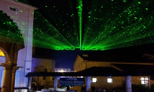 Un large choix de laser vert et autres couleurs